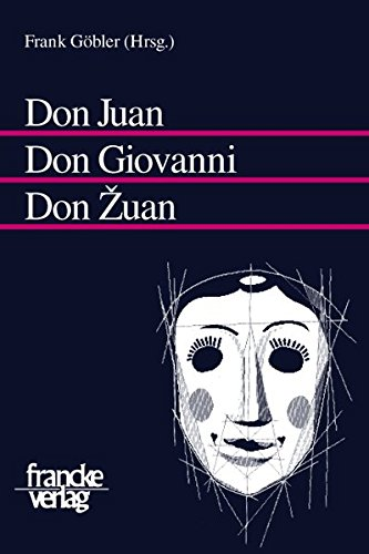 Don Juan - Don Giovanni - Don Zuan: Frank G�bler