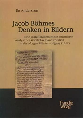 Jacob Böhmes Denken in Bildern: Bo Andersson