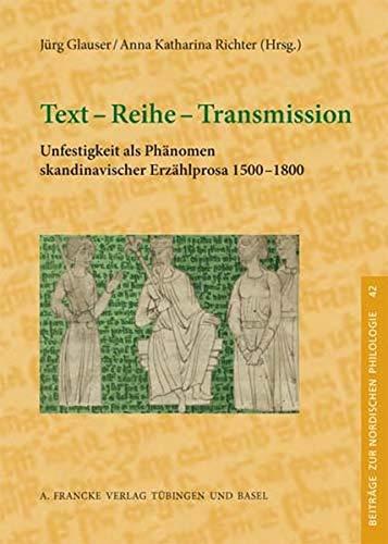 Text - Reihe - Transmission: Jürg Glauser