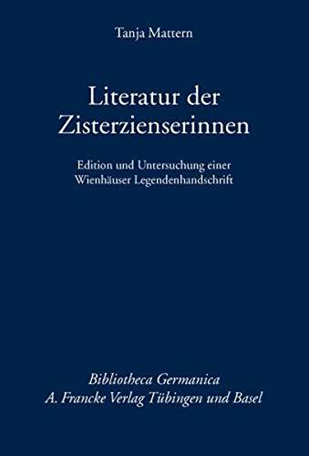 Literatur der Zisterzienserinnen: Tanja Mattern