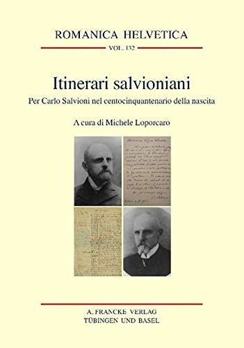 Itinerari salvioniani: Michele Loporcaro