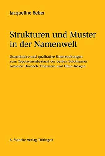 Strukturen und Muster in der Namenwelt: Jacqueline Reber