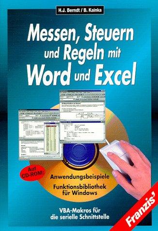 Messen, Steuern und Regeln mit Word und: Hans-Joachim Berndt Burkhard