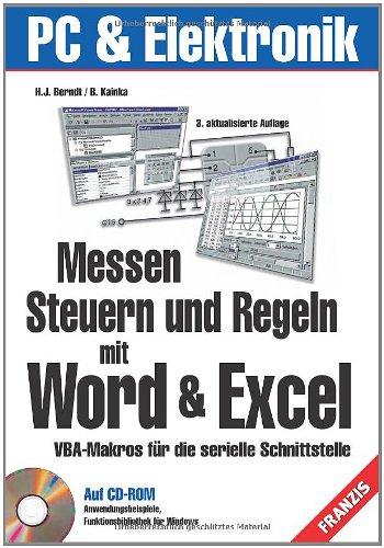 Messen, Steuern und Regeln mit Word und: Berndt, Hans-Joachim; Kainka,