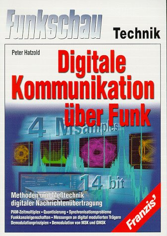 9783772351549: Digitale Kommunikation über Funk