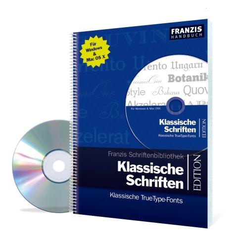 9783772385377: Klassische Schriften. Klassische TrueType-Fonts. Für Windows & Mac OS X