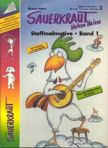 9783772416217: Sauerkraut. Stoffmal-Motive 1