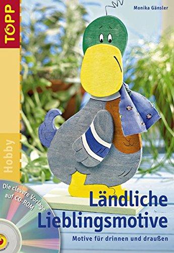 9783772434877: Ländliche Lieblingsmotive: Holzmotive für draussen