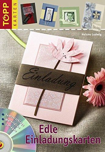 9783772436956: Edle Einladungskarten: Neutral für viele Anlässe