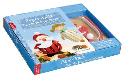 9783772440731: Kreativ-Set: Paper Balls für die Weihnachtszeit