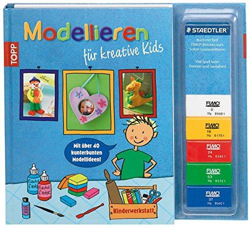Kinderwerkstatt Modellieren für kreative Kids: Mit über: Lange, Kaufmann, Birgit