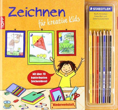 9783772457357: Kinderwerkstatt Zeichnen für kreative Kids: Mit über 70 kunterbunten Zeichenideen