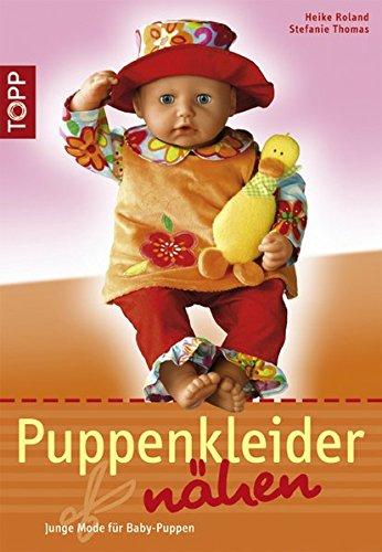 9783772466366: Puppenkleider nähen: Junge Mode für Baby-Puppen