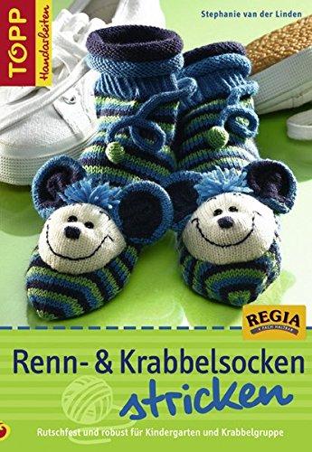 9783772466434: Renn- und Krabbelsocken stricken: Rutschfest und robust für Kindergarten und Krabbelgruppe