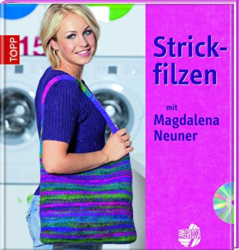 9783772467547: Strickfilzen mit Magdalena Neuner