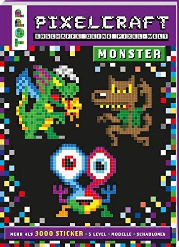 9783772476402: Pixelcraft - Monster: Erschaffe deine Pixelwelt