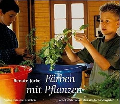 9783772503733: Färben mit Pflanzen