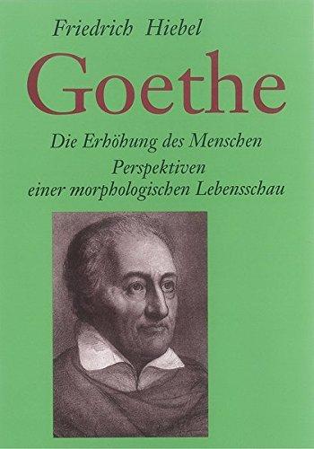 9783772507717: Goethe, Die Erh�hung des Menschen
