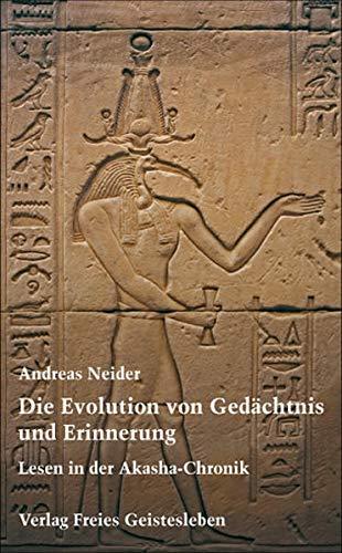 Die Evolution von Ged�chtnis und Erinnerung: Andreas Neider