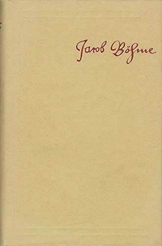 9783772800689: Jacob Bohme: Samtliche Schriften / Mysterium Magnum, Oder Erklarung Uber Das Erste Buch Mosis 1623: Anfang Bis Cap. 43
