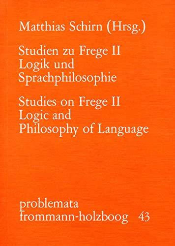 9783772806193: Logik und Sprachphilosophie