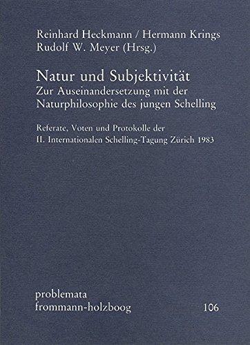 Natur und Subjektivität: Reinhard Heckmann