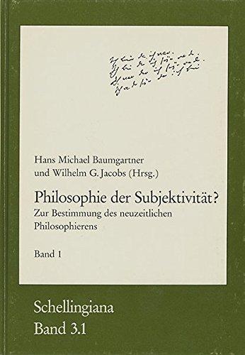 Philosophie der Subjektivität? Teil 1: Zur Bestimmung: Frommann-Holzboog Verlag e.K.