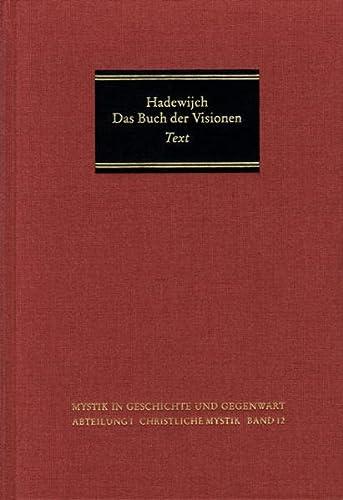 9783772818639: Das Buch Der Visionen: Einleitung, Text Und Ubersetzung (Mystik in Geschichte Und Gegenwart) (Dutch Edition)
