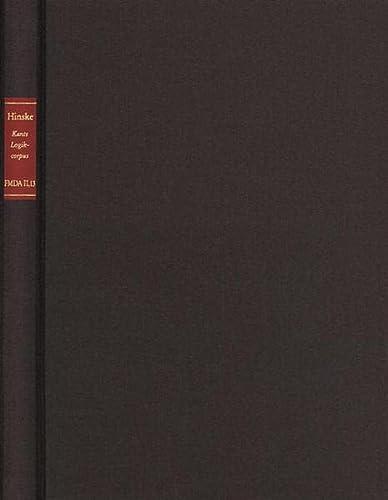9783772819278: Zwischen Aufklärung und Vernunftkritik: Studien zum Kantschen Logikcorpus (Forschungen und Materialien zur deutschen Aufklärung)
