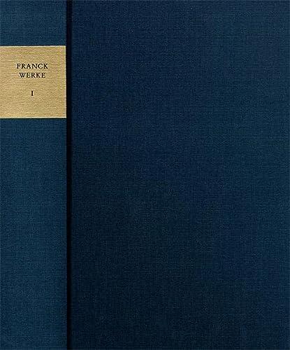 9783772822339: Sämtliche Werke 01: Frühe Schriften: Kommentar