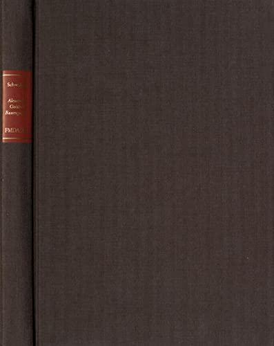 Alexander Gottlieb Baumgarten - ein intellektuelles Porträt: Clemens Schwaiger