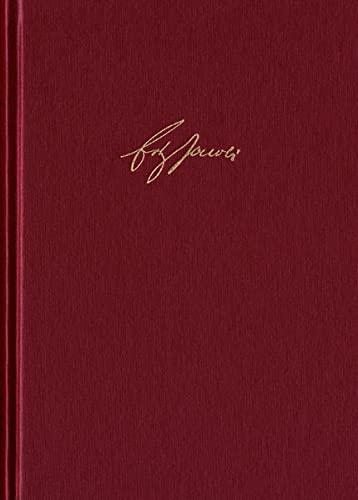 Friedrich Heinrich Jacobi: Briefwechsel - Nachlaß - Dokumente / Briefwechsel. Reihe I: ...