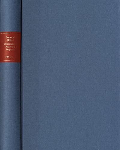 Philosophical Academic Programs of the German Enlightement: Seung-Kee Lee