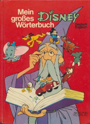 9783773549495: Mein grosses Disney-Wörterbuch. Deutsch-Englisch