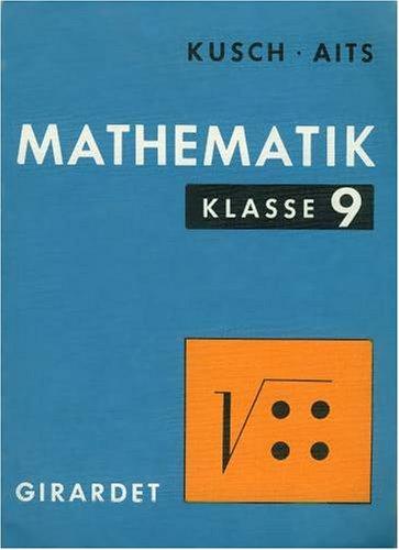 9783773629814: Mathematik Klasse 9. (2981). (Für alle Bundesländer außer Hessen)