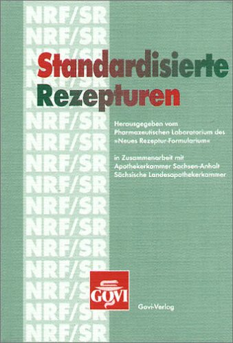 9783774110236: Standardisierte Rezepturen (NRF/SR)