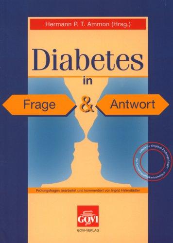 9783774110298: Diabetes in Frage und Antwort