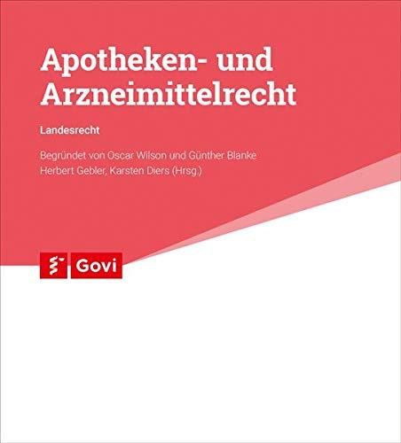 9783774198678: Apotheken- und Arzneimittelrecht. Landesausgabe NRW