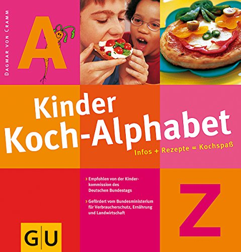 9783774249165: Kinder - Koch - Alphabet. Infos + Rezepte = Kochspa�.