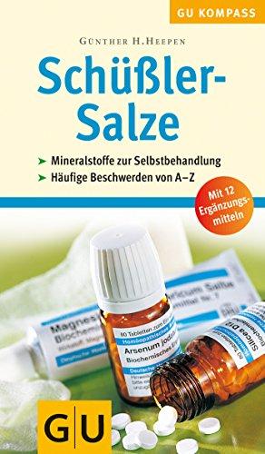 9783774255265: GU Kompass Sch�ssler-Salze . Mineralstoffe zur Selbstbehandlung. H�ufige Beschwerden von A-Z. Button: