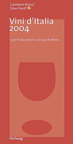 Vini d Italia 2004: 1937 Produzenten und