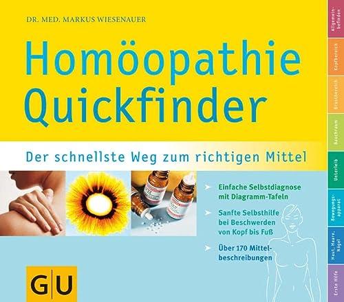9783774271999: Homöopathie Quickfinder