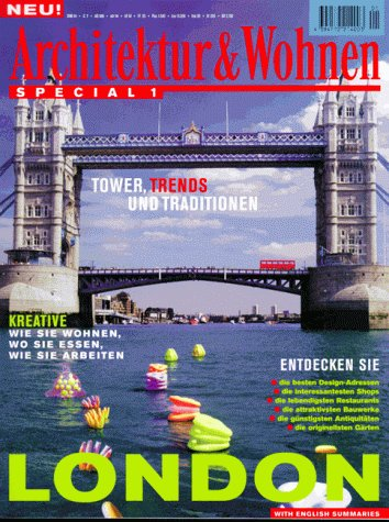 9783774297135: Architektur & Wohnen Special, Nr.1, London