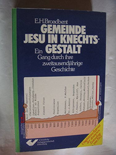 9783775109215: Gemeinde Jesu in Knechtsgestalt. Ein Gang durch ihre zweitausendj�hrige Geschichte