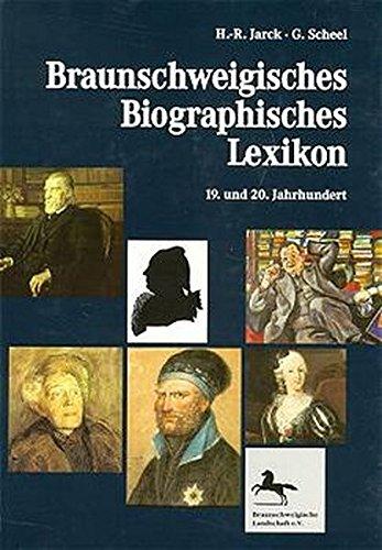 9783775258388: Braunschweigisches Biographisches Lexikon.19. und 20. Jahrhundert