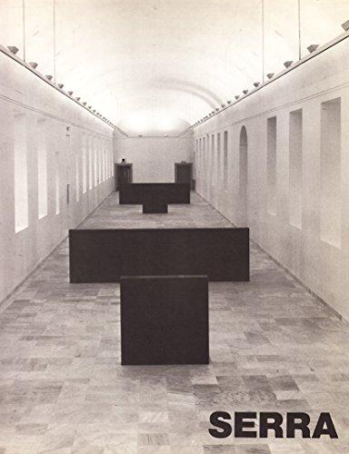 Richard Serra (German Edition) (377570244X) by Serra, Richard