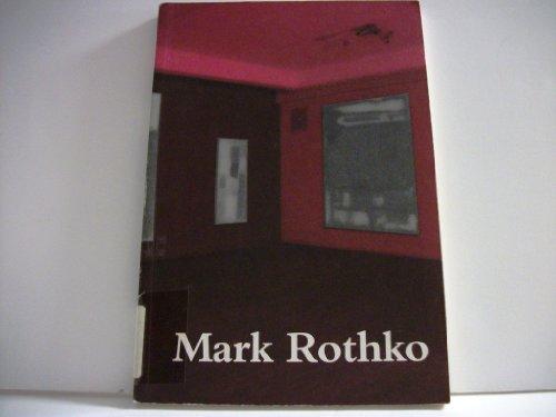 """Mark Rothko : """"Multiforms""""; Bilder von 1947: Blau, Daniel [Hrsg.]:"""