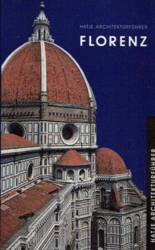 9783775705110: Architekturf�hrer Florenz
