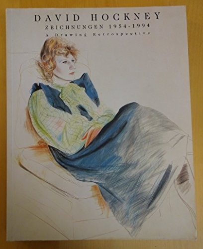 David Hockney: Zeichnungen 1954-1994, a drawing retrospective (German Edition): Hockney, David
