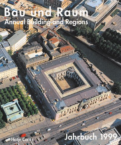 9783775708319: Building and Regions Annual 1999